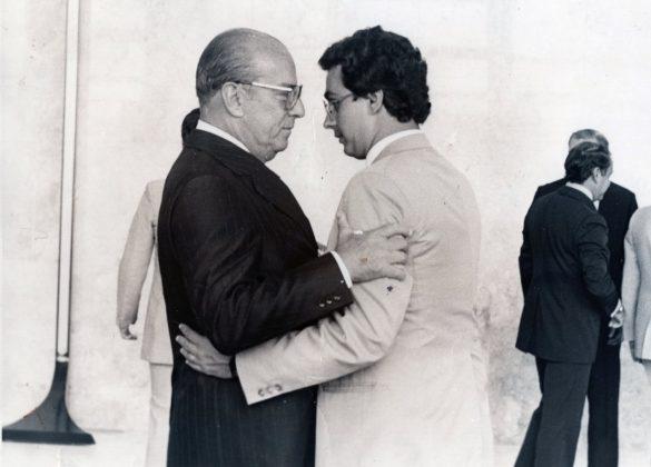 João Baptista de Oliveira Figueiredo foi um geógrafo, político e militar brasileiro. Foi o 30º Presidente do Brasil, de 1979 a 1985